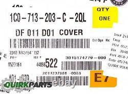 02-10 VW Volkswagen BEETLE Black Gear Shift Cover 1C0713203C2QL GENUINE OEM NEW