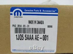 11-14 Dodge Charger Carbon Fiber Gear Shifter Bezel New Mopar Genuine 1jq55aaaae