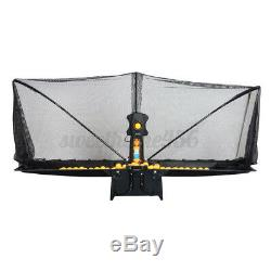 50W Automatic Table Tennis Robot Ping-pong Balls Train Machin Multi-rotatio