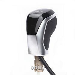 AT Electronic LED Gear shift Knob+Gaiter for VW Golf MK6 MK7 Passat B7/8 CC