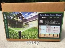 AUTO RAIN LAWN GEAR (SA03) Rain Bird Irrigation Automatic Sprinkler 3 Zone Three