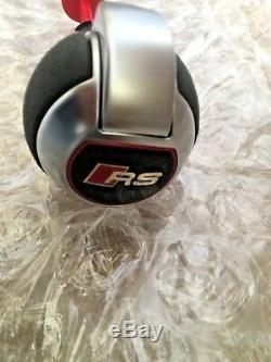 Audi RS4 RS3 RSQ3 RS5 RS6 TTRS RSQ5 DSG alcantara gear knob gear stick leather