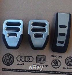 Audi RS6 4F original Pedalset Pedale A6 S6 plus C6 Pedalkappen pedal pads caps