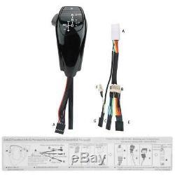 Auto Car LHD Automatic LED Shift Knob Gear Shifter Lever For E46 E60 E61 E63 NEW