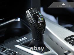 AutoTecknic BM-0197 Carbon Fiber Gear Selector Cover Fits BMW Sport Automatic