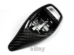 AutoTecknic Carbon Fiber Gear Selector Cover BMW Vehicles with Sport Automatic