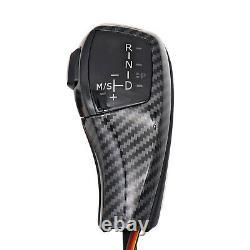 Automatic F30 Style Carbon Fiber LED Shift Knob Gear Shifter for BMW E90 E92 E93