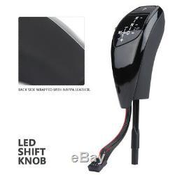 Automatic LED Gear Shift Knob Shifter Lever LHD for E81 E84 E88 E90 E92 NEW