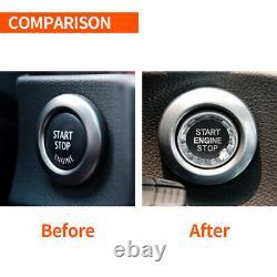 Automatic LED Shift Knob Gear Shifter For E46 E60 E61 E63 E64 A+B Carbon Fiber