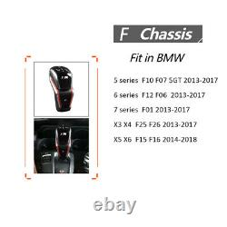 Automatic Transmission Gear Shift Knob Kit For BMW 5 series F10 F07 2013-2017