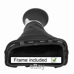 Automatik Leather gear shift knob Mercedes W203 CL203 S203 LED stitch silver B41