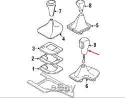 BMW 5 E60 Auto Leather Gear Shift Knob 25167585790 7585790 New Genuine 2007