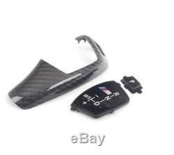 BMW 5 F10 M Automatic Gear Shift Knob Carbon Trim 61312250699 NEW GENUINE