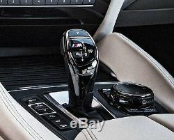 BMW OEM F15 X5 2014+ F16 X6 2015+ Sport Automatic Ceramic Gear Selector Trim NEW