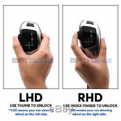 Black Automatic LED Gear Shift Knob For BMW E39 E46 E53 E60 E63 E87 E90 E92 X5