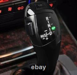 Black F30 Style LED Illuminated Shift Knob Selector For BMW E46 E60 3 5 Series