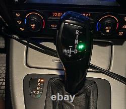 Black LED Illuminated Shift Knob Selector Upgrade For BMW E39 5 Series, E53 X5