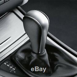 Bmw New Genuine 1 3 X1 Z4 Leather Chrome Automatic Gear Shift Knob 7570652
