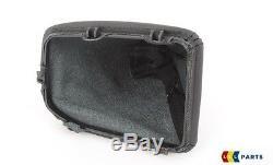 Bmw New Genuine E90 E91 E92 E93 Automatic Gear Shift Black Leather Cover Lhd