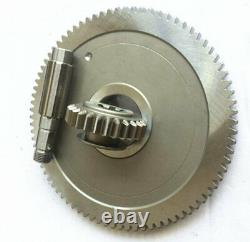 Bridgeport Milling Machine Head Gear Vertical The Mill With shaft Rod A58+60+62