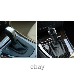 Carbon Fiber Automatic LED Gear Shift Knob fit for BMW 3 Series E90 E91 E93 E82