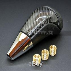 Carbon Fiber Gear Shift Knob for Scion Acura Mazda Subaru Toyota Lexus Nissan ZX
