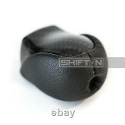 Carbon Fiber Pattern Gear Shift Knob for Toyota Prius Prime Plug-in Hybrid PS254