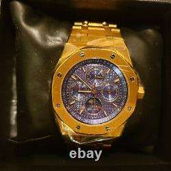 DIDUN Watch Mens Watch Top Automatic Gear Gold Watch Waterproof Limited Edition