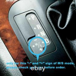 F30 Style Carbon Fiber Automatic LED Shift Knob Gear Shifter For BMW E90 E92 E93