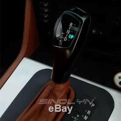 F30 Style LED Illuminated Shift Knob Gear Selector Lever For BMW E46 E90 E92 E93