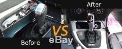 F30 Style LED Illuminated Shift Knob Selector Upgrade For BMW E46 E60 3 5 Series