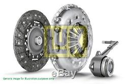 FORD S-MAX 1.8D Clutch Kit 3pc (Cover+Plate+CSC) 07 to 14 5 Speed MTM 240mm LuK