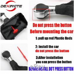 For Audi RS3 4 5 6 7 A1 3 6 7 Q3 Automatic Gear shift knob handle