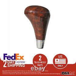 For Mercedes Cl Class C215 Gear Shift Knob Shifting Handle Automatic Wood Walnut
