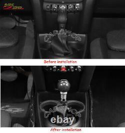 For Mini Cooper R55 R56 R57 F58 F55 F56 JCW Carbon Fiber Gear Shift Knobs Lever