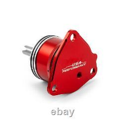 GM Powerglide Automatic Transmission Billet 1st Gear Servo Piston Kit Red