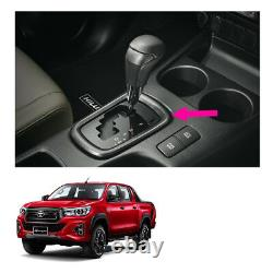 Gear Base Cover Automatic Sporty Grey Fits Toyota Hilux Revo Rocco 2015 2019
