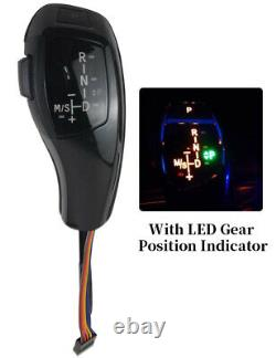 Gear Knob, Automatic LED Gear Shift Knob Shifter Lever For BMW E60 E61 2004-2006