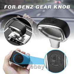 Gear Shift Knob Shifter For Benz BRABUS A45 AMG W212 W218 X156 W463 G Class
