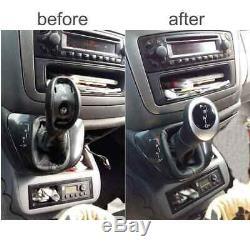 Gear shift knob Mercedes W639 Vito Viano illuminated automatic stitching red 41