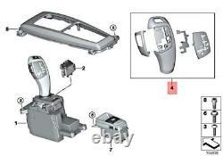 Genuine BMW X5 E70 X6 E71 Automatic Gear Shift Cover Repair Kit OEM 61319116587