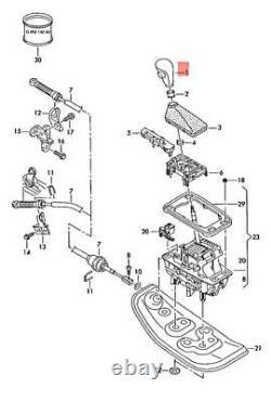 Genuine Gear Shift Knob Lever for Automatic AUDI A3 8P A6 C6 Q7 4L RS6 2004-2015