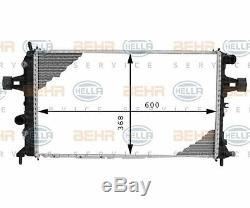 HELLA 8MK 376 710-334 Kühler, Motorkühlung BEHR HELLA SERVICE für Opel
