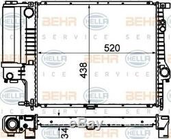 HELLA Kühler Motorkühlung Wasserkühler BMW 5er E39 bis 09/98 // 8MK 376 888-134