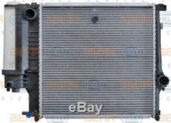 HELLA Kühler Motorkühlung Wasserkühler für BMW 3er E30 E36 // 8MK 376 713-121
