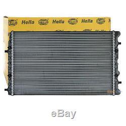 HELLA Kühler Motorkühlung Wasserkühler für Seat Skoda VW // 8MK 376 717-701