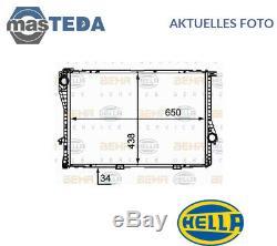 Hella Kühler Wasserkühler Motorkühler 8mk 376 712-491 I Neu Oe Qualität