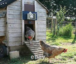 HenSafe Automatic Chicken Coop Door Opener, Hen House, Heavy Gear Motor 5Kg Lift