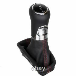 ICT Leather gear shift knob Mercedes W203 CL203 S203 Automatik LED thread red 41