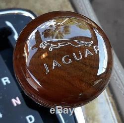 JAGUAR XJ6, XJS, XJ8, XK8, XJR, XKR, XK, S-Type, X-Type, XK Wood Walnut Gear Shift Knob